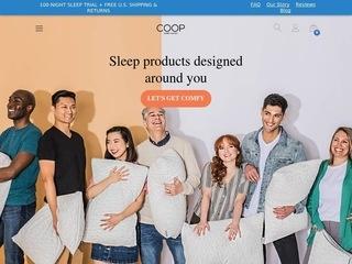 Go to Coop Home Goods website.