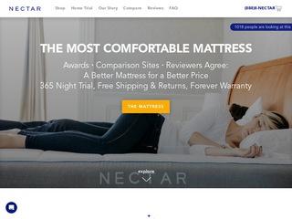 Go to nectarsleep.com website.