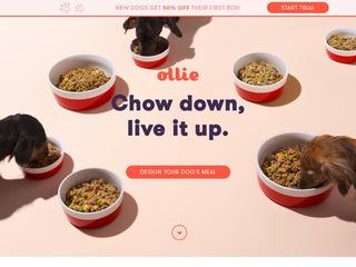 Go to myollie.com website.