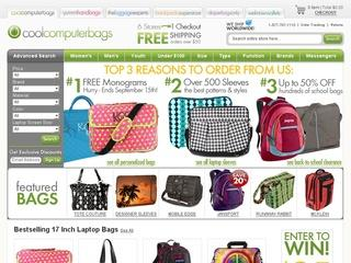 Go to coolcomputerbags.com website.