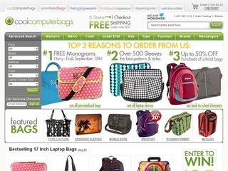 Go to coolcomputerbags.com website.