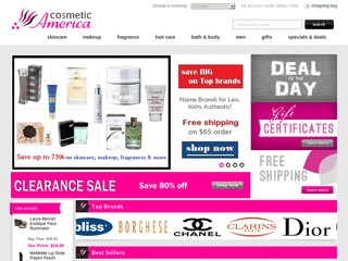 Go to cosmeticamerica.com website.