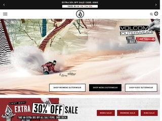 Go to volcom.com website.