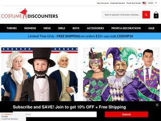 Go to costumediscounters.com website.