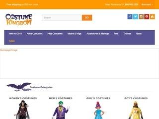 Go to costumekingdom.com website.
