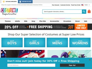 Go to costumesupercenter.com website.