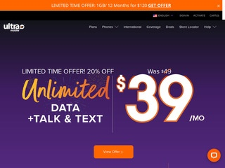 Go to ultramobile.com website.