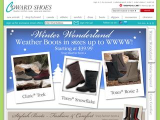 Go to cowardshoe.com website.