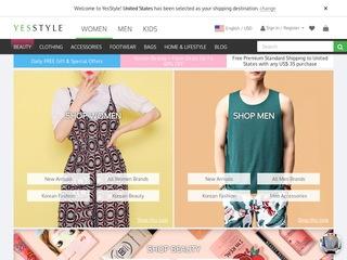 Go to yesstyle.com website.