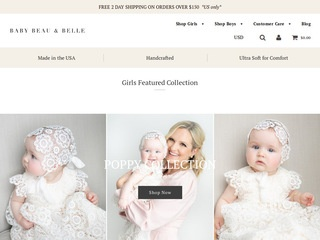 Go to Baby Beau & Belle website.