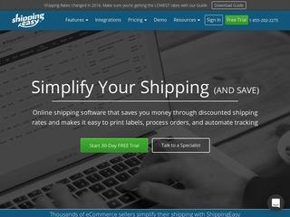 Go to shippingeasy.com website.
