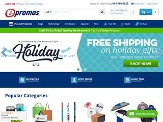 Go to epromos.com website.