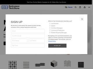 Go to Bedrosians Tile & Stone website.