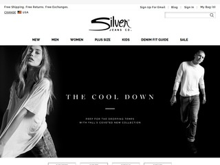 Go to Silver Jeans website.