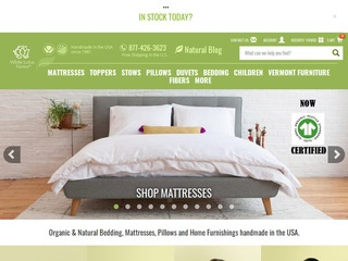 Go to White Lotus Home website.