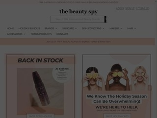 Go to The Beauty Spy website.