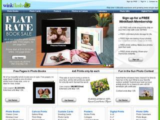 Go to winkflash.com website.