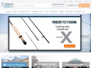 Go to tridentflyfishing.com website.