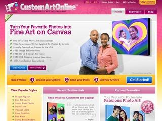 Go to customartonline.com website.