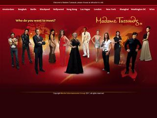 Go to madametussauds.com website.