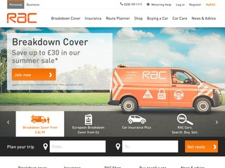 Go to RAC Car Insurance website.