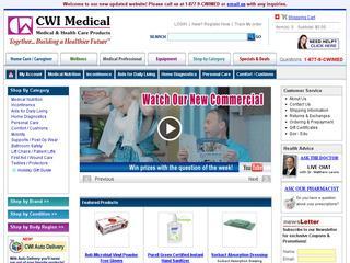 Go to cwimedical.com website.