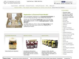 Go to cybercucina.com website.