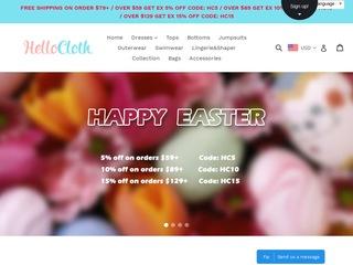Go to hellocloth.com website.