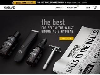 Go to manscaped.com website.
