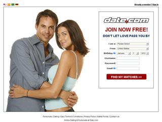 Go to date.com website.
