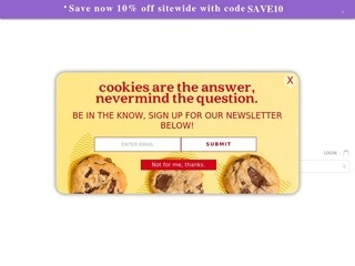 Go to davidscookies.com website.