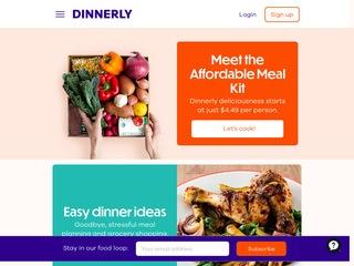 Go to dinnerly.com website.