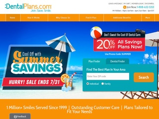 Go to dentalplans.com website.
