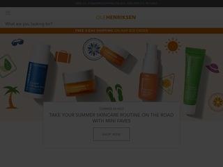 Go to Ole Henriksen website.