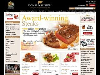 This is what the donaldrussell.com website looks like.