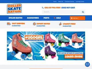 Go to rollerskatenation.com website.