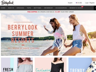 Go to BerryLook website.