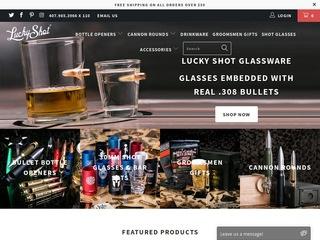 Go to luckyshotusa.com website.