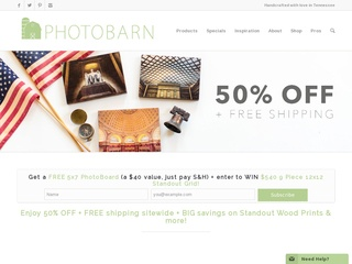 Go to photobarn.com website.