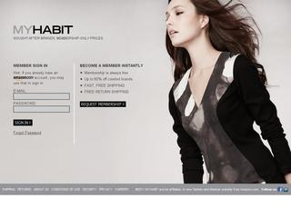 Go to myhabit.com website.