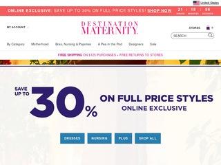 Go to Destination Maternity website.