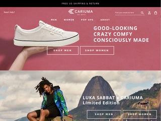 Go to cariuma.com website.