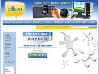 Go to dillyeo.com website.