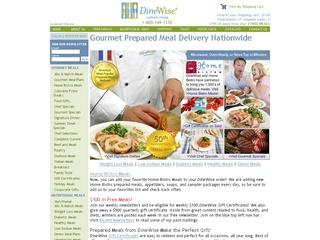 Go to dinewise.com website.