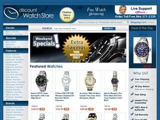 Go to discountwatchstore.com website.
