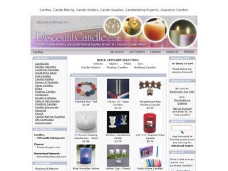 Go to discountcandleshop.com website.
