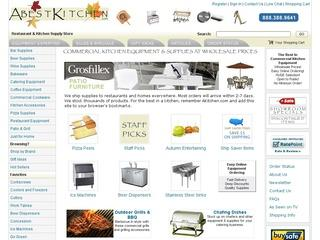 This is what the abestkitchen.com website looks like.