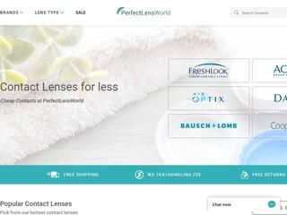 Go to perfectlensworld.com website.