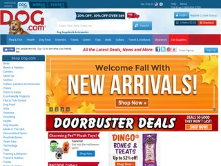 Go to dog.com website.