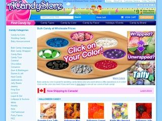 This is what the acandystore.com website looks like.